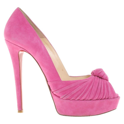 Christian Louboutin Peeptoes in Pink