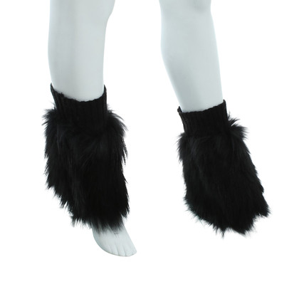Other Designer R & L - Fur Cuffs in Black
