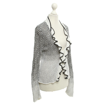 Marc Cain Vest in zwart / White