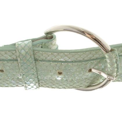 Versace Belt Snakeskin