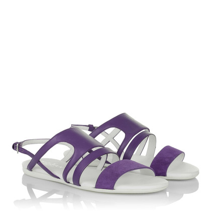 Hogan Sandals purple