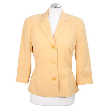 Marc Cain Wool blazer in orange