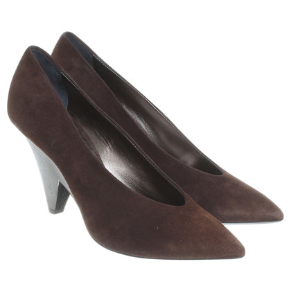 Konstantin Starke Brown suede pumps