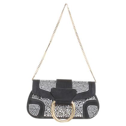 Dolce & Gabbana clutch gem embellished
