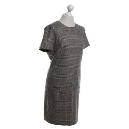 St. Emile Dress with plaid pattern