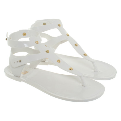 Moschino Love Sandals in white
