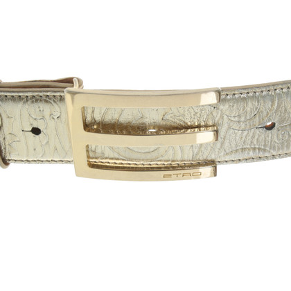 Etro Belt in gold