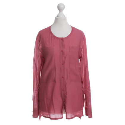 Gestuz Blouse in Raspberry Red