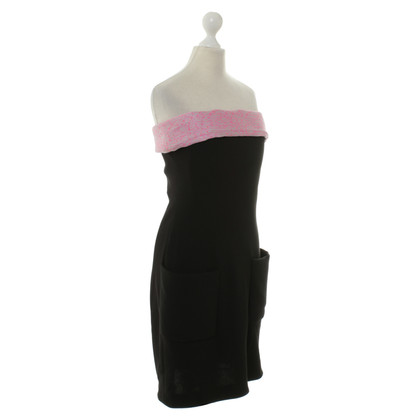 Balenciaga Dress with pink snippet