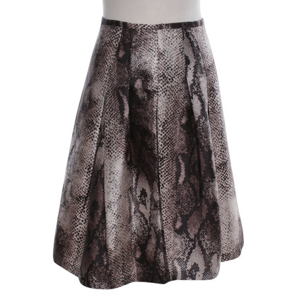 Samantha Sung Silk skirt with pattern