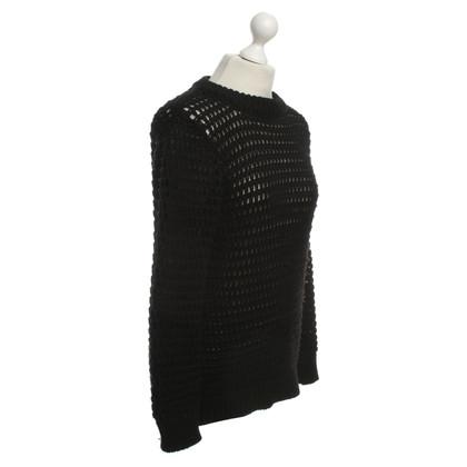 Forte Forte Pull en laine noir