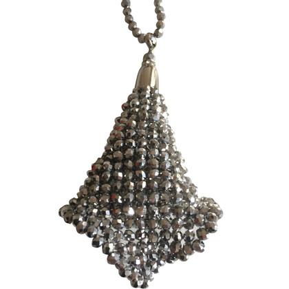 Max Mara Necklace with calyx-pendant