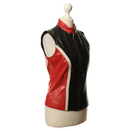 Hugo Boss Multicolored leather vest