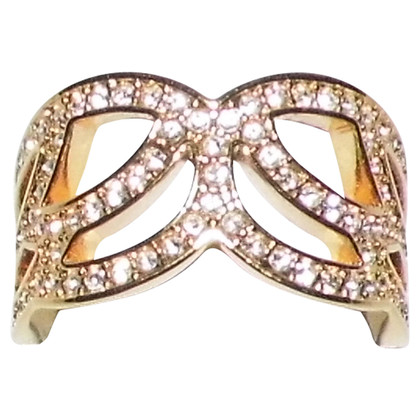 Swarovski Goldfarbener Ring