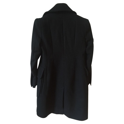 Carven Black Coat Carven T.36