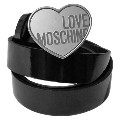 Moschino Love Cintura in vernice