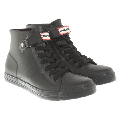 Hunter Sneakers in Schwarz