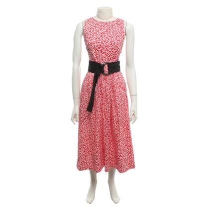 Dorothee Schumacher Summer dress in red / white