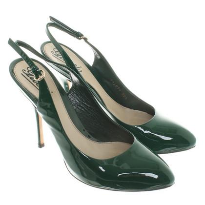 Gucci green pumps