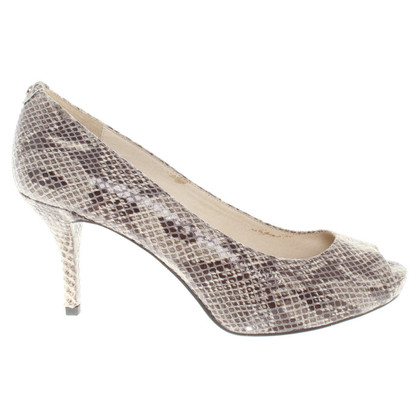 Michael Kors pumps leather in reptile look