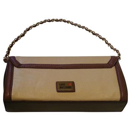 Moschino  Handtasche mit Kettenhenkel
