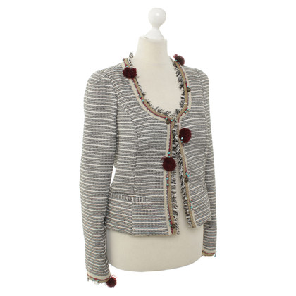 Maison Scotch zwart-wit Blazer