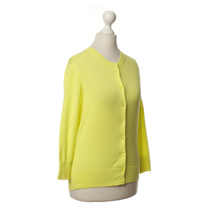 J. Crew Cardigan in giallo
