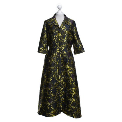 Erdem Coat with a floral pattern