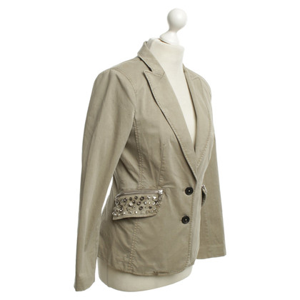 Blonde No8 Blazer in Oliv