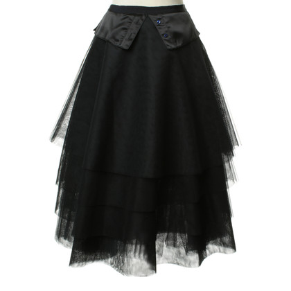 Pringle of Scotland ruffle ball skirt