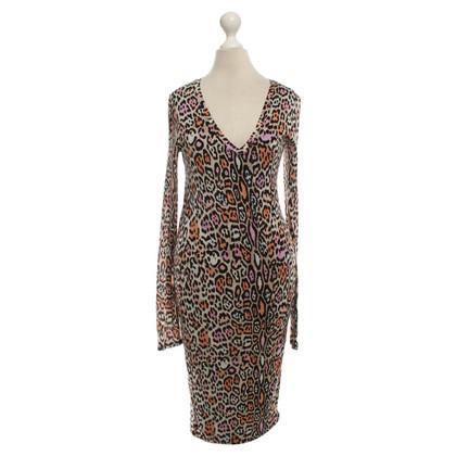 BCBG Max Azria Kleid mit Leoparden-Muster