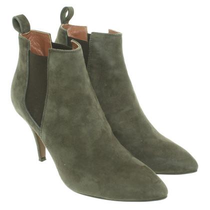 L'autre Chose Suede ankle boots