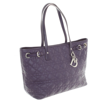 Christian Dior Handtasche in Violett