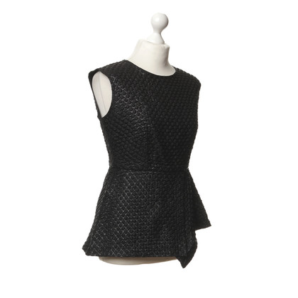Odeeh Black top with patterns