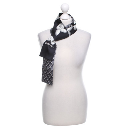 Chanel Scarf with pattern