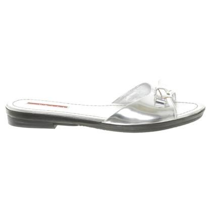 Prada Sandalen in Silber