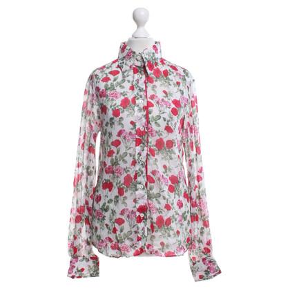 Dolce & Gabbana Blouse flower print