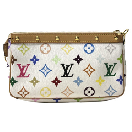 "Louis Vuitton ""Accessoires Monogram Multicolore Canvas Pochette"""