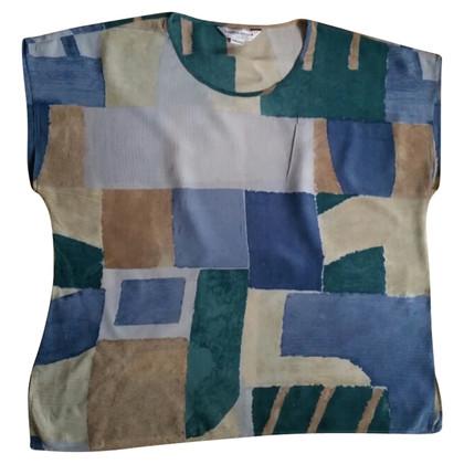 Marina Rinaldi Silk shirt with pattern