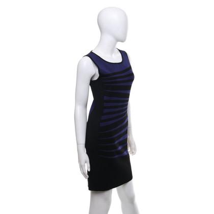 Karen Millen Dress in black / purple