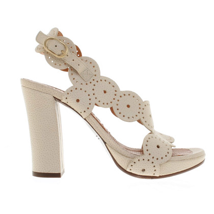 Other Designer Chie Mihara - Sandals in Cream