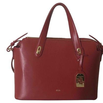 Ralph Lauren Rote Handtasche