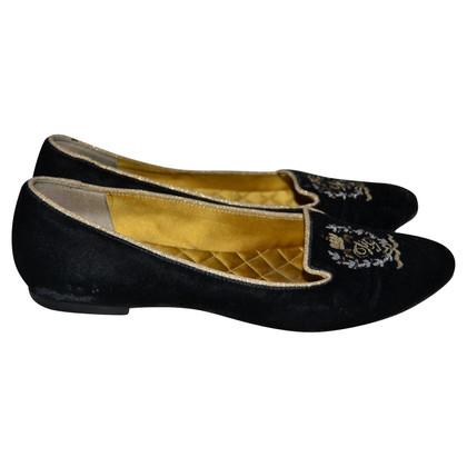 Dolce & Gabbana Velvet loafers