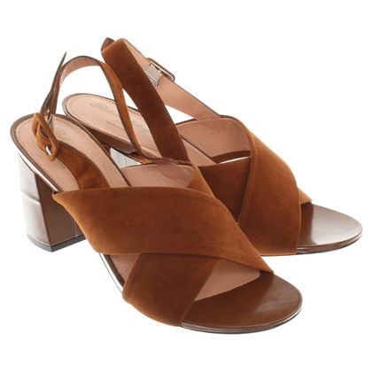 Robert Clergerie Sandals Suede