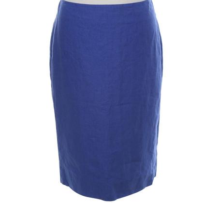 Pauw Linen skirt in blue
