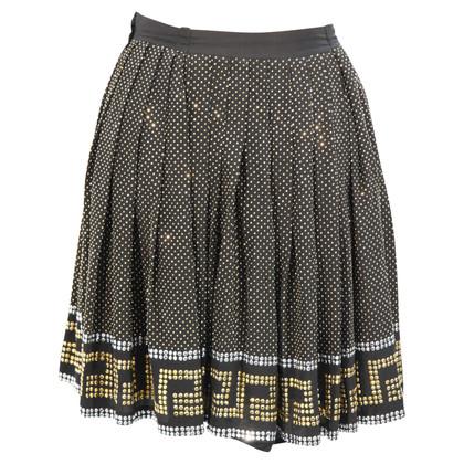 Versace for H&M Zijden rok met pailletten