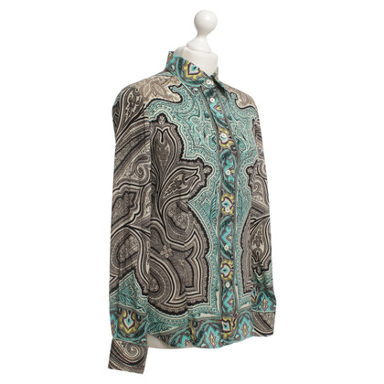 Etro Blouse with ornament pattern