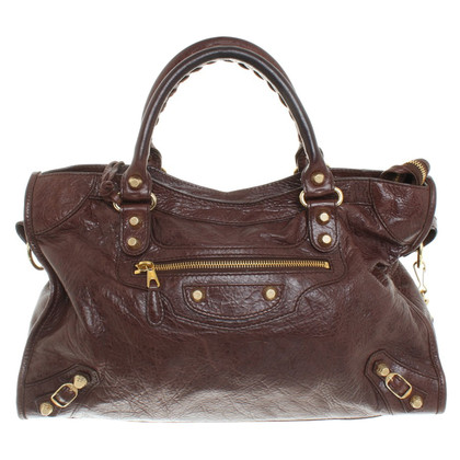 "Balenciaga ""Bag City"" a Brown"