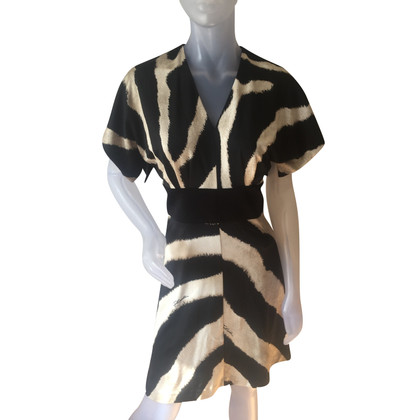 Just Cavalli Dress with zebra print