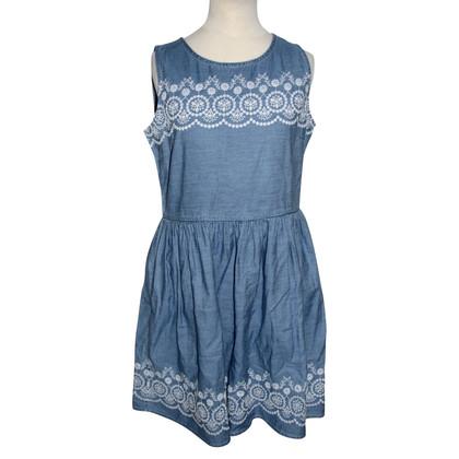Jack Wills Embroidered denim dress